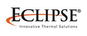 Eclipse -innovative thermal solutions Logo in black and red