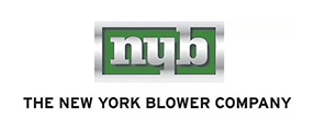 New York Blower Co Logo with green background